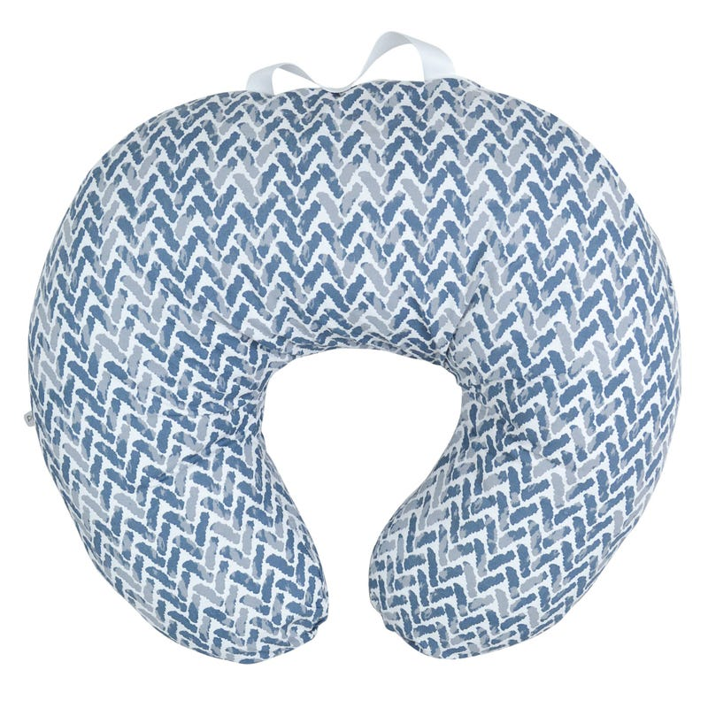Nursing Cushion Chevron - Blue