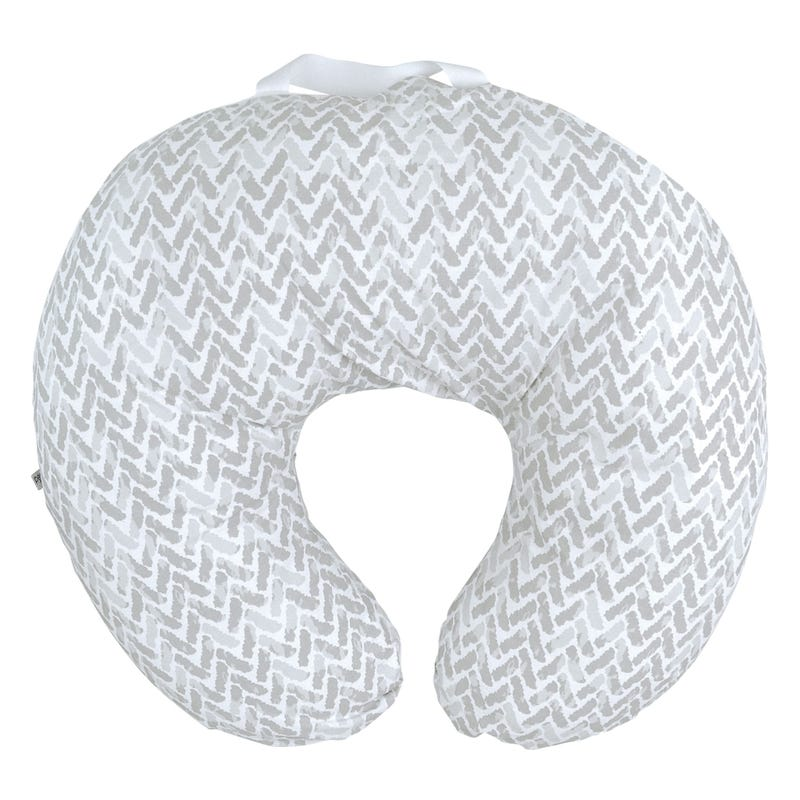 Nursing Cushion Chevron -Gray