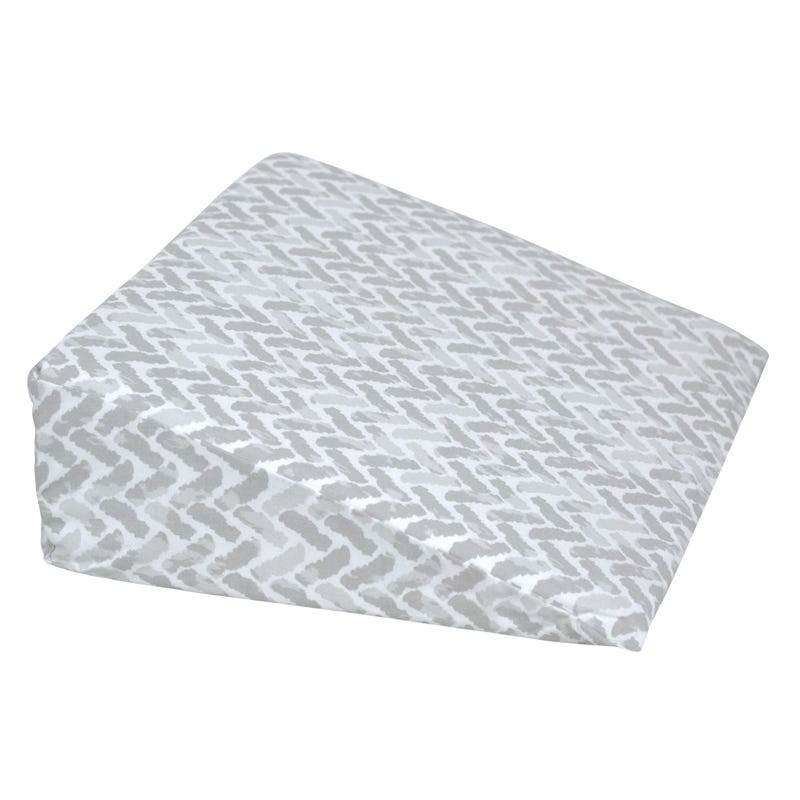 Wedge Pillow Chevron - Gray