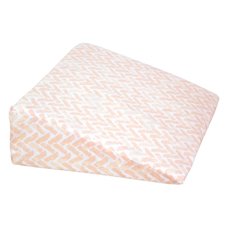 Wedge Pillow Chevron - Pink