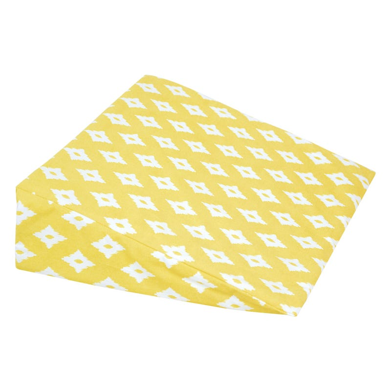 Wedge Pillow diamond - Yellow