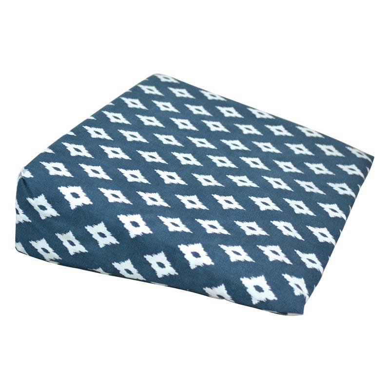 Wedge Pillow diamond - Navy