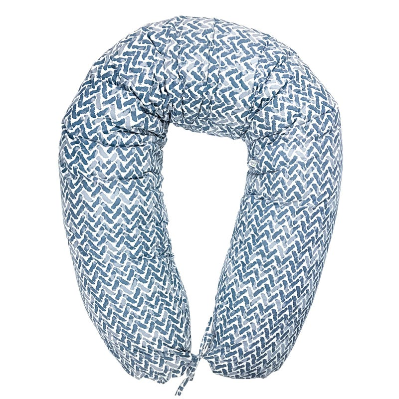 Multifunctional Pregnancy Pillow Chevron - Blue