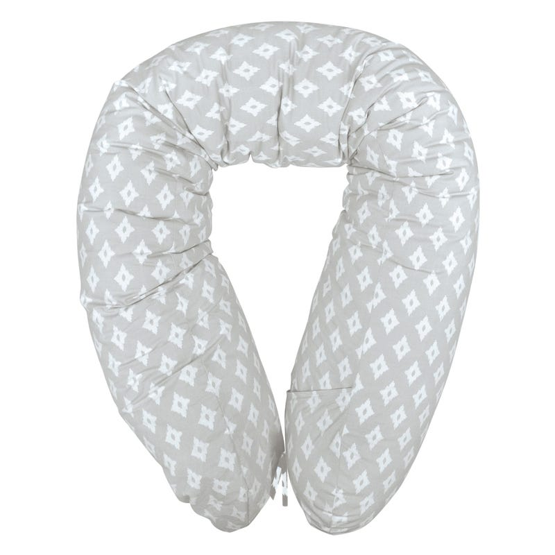 Multifunctional Pregnancy Pillow Diamond - Gray