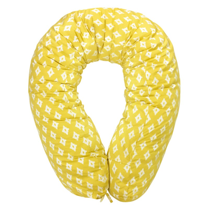 Multifunctional Pregnancy Pillow diamond - Yellow