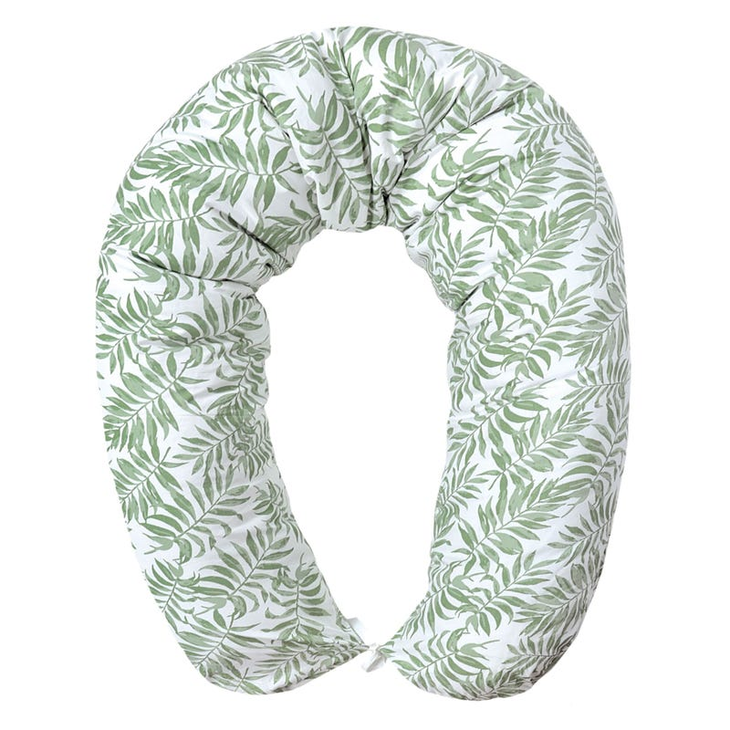 Multifunctional Pregnancy Pillow - Tropical Green