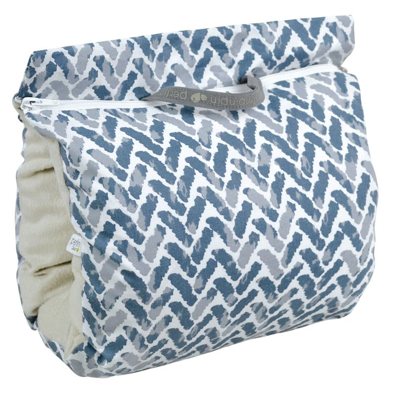 Nursing Muff Chevron - Blue