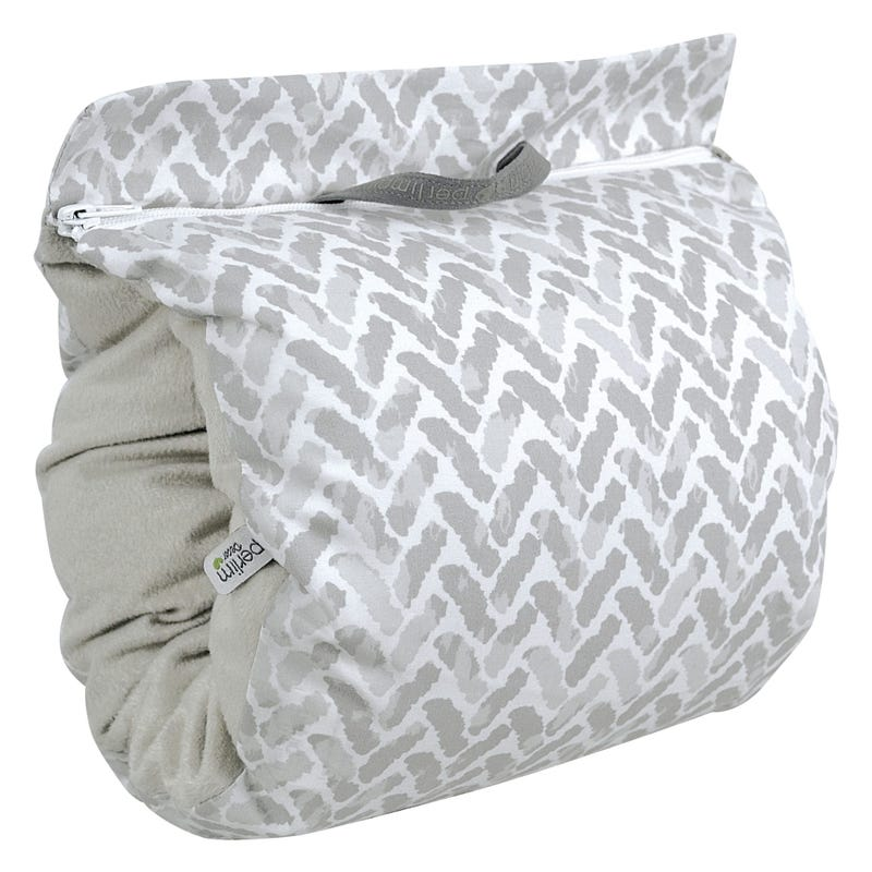 Nursing Muff Chevron - Gray