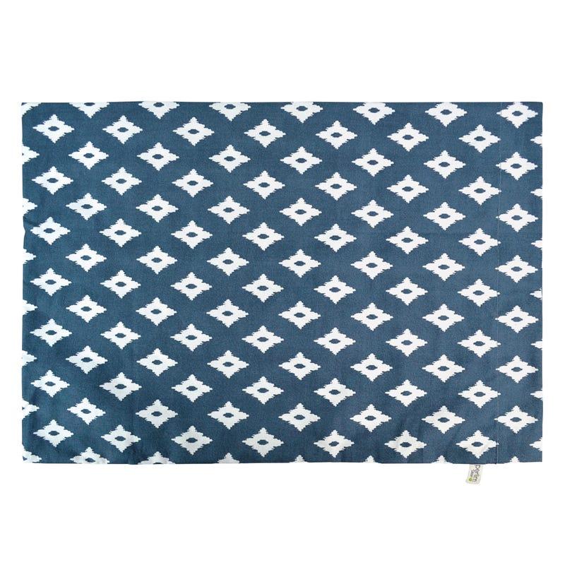 Small Pillowcase Diamond - Navy