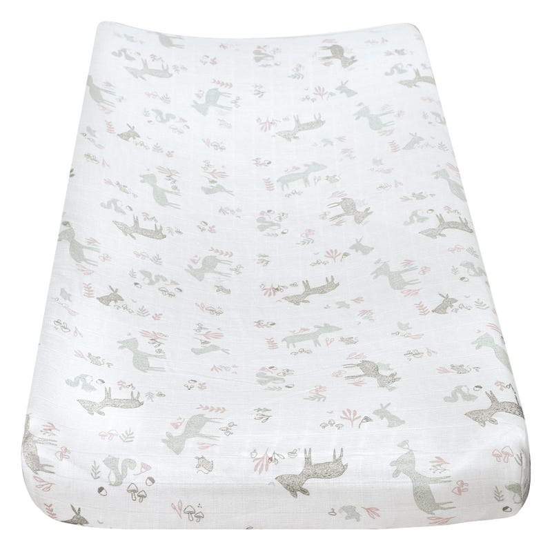 Muslin Change Pad Cover For Pk