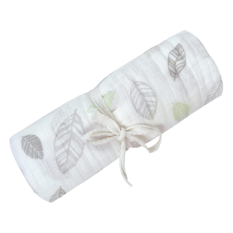 Cotton Muslin Swaddle Leave