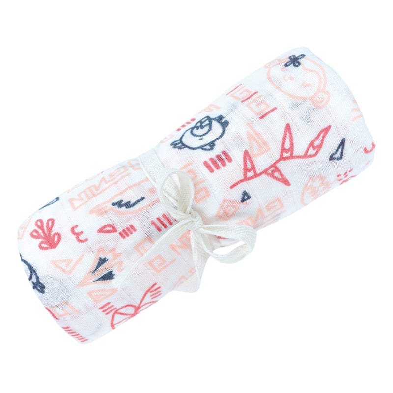 Cotton Muslin Swaddle Panama