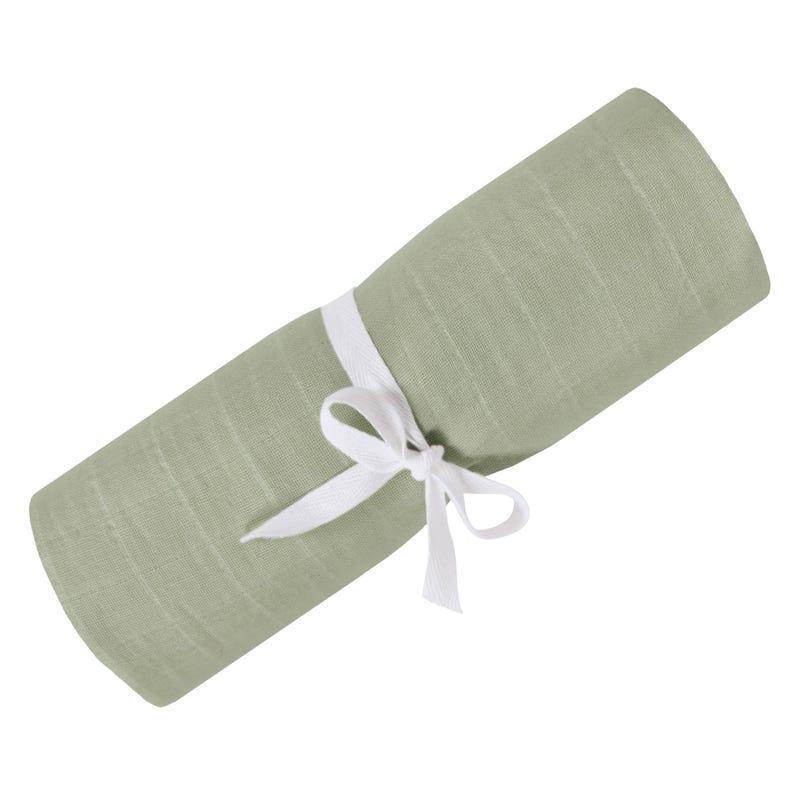 Swaddle Blanket Muslin Khaki