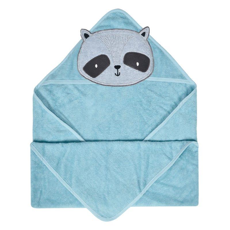 Hooded Towel - Racoon