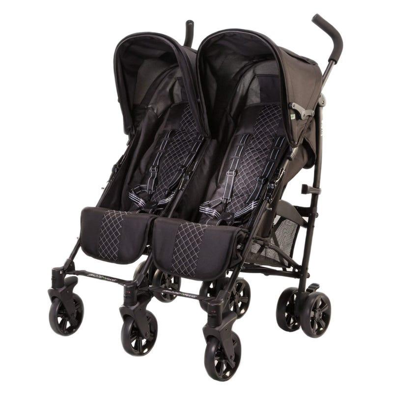 Double Stroller Guzzie+Guss - Black