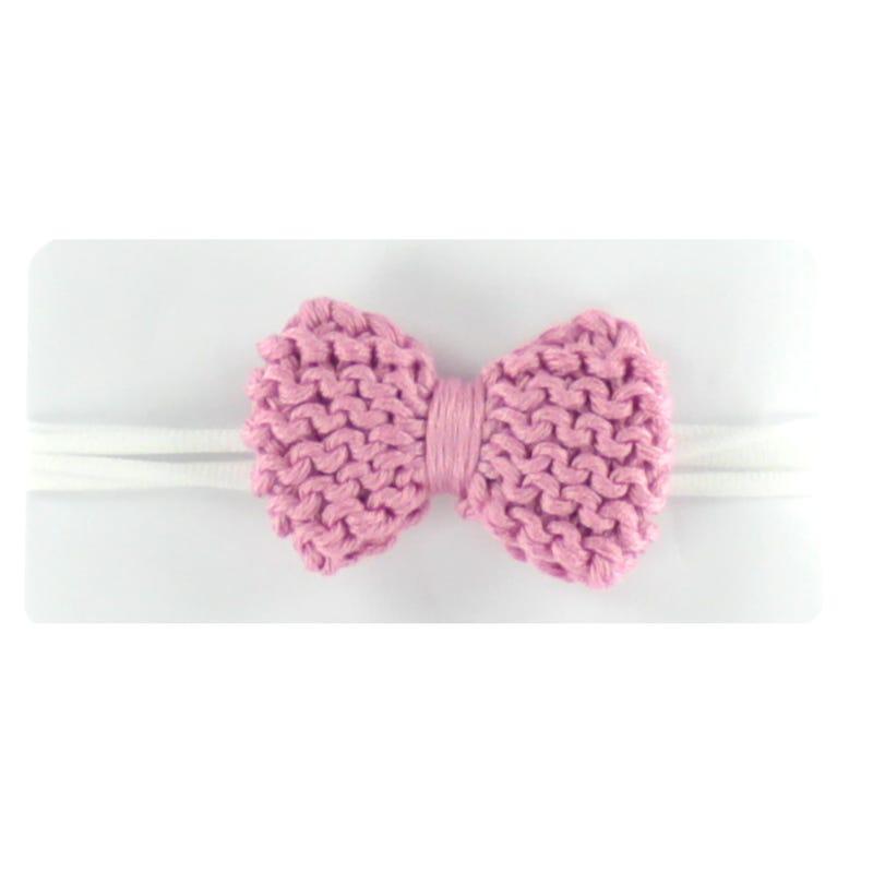 Baby Headband - Old Pink