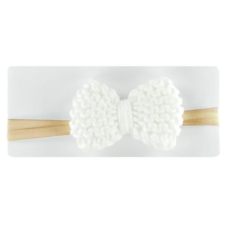 Bandeau Bébé Blanc Coton 0-5ans