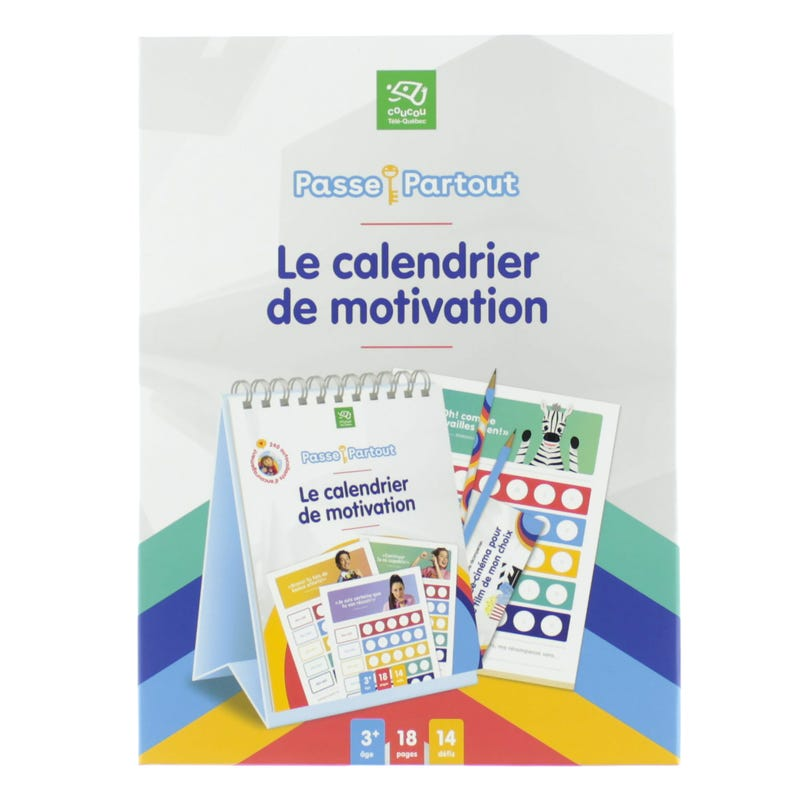 Calendar Passe-Partout (French version only)