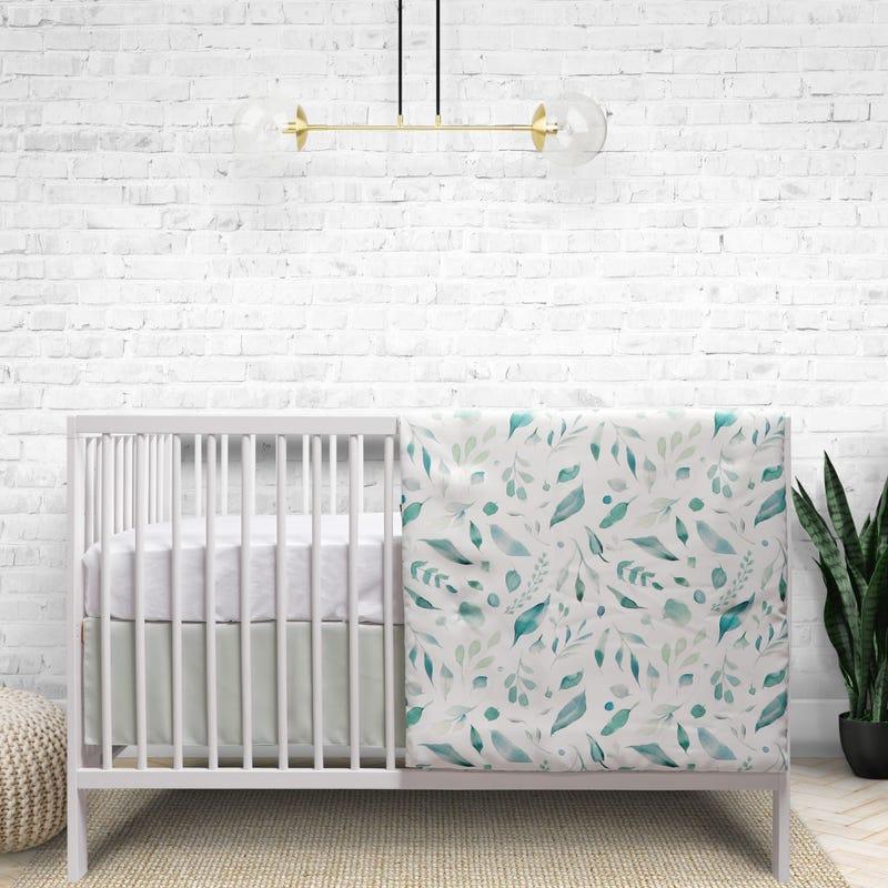 3-Piece Crib Bedding - Spring