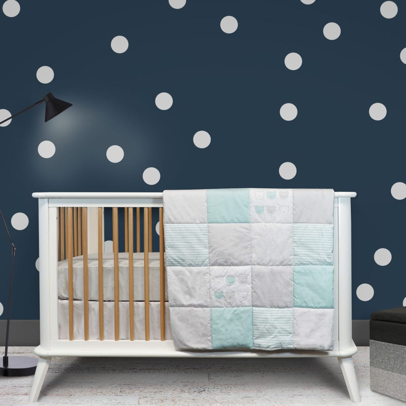 3-Piece Crib Bedding Set - Bear