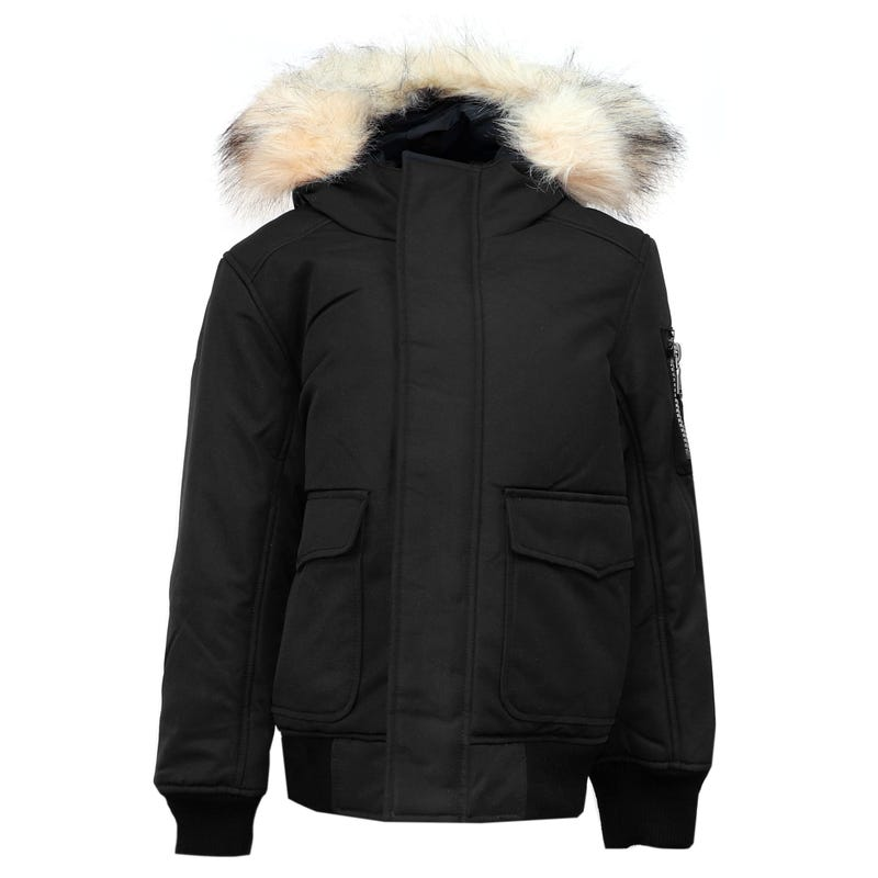 Lucas Faux Fur Jacket 7-16y