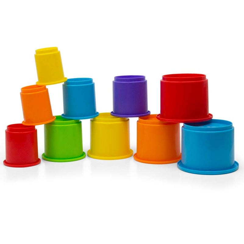 Rainbow Stackin' Cups