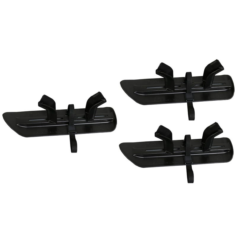 Stroller Skis 3 Wheels Set