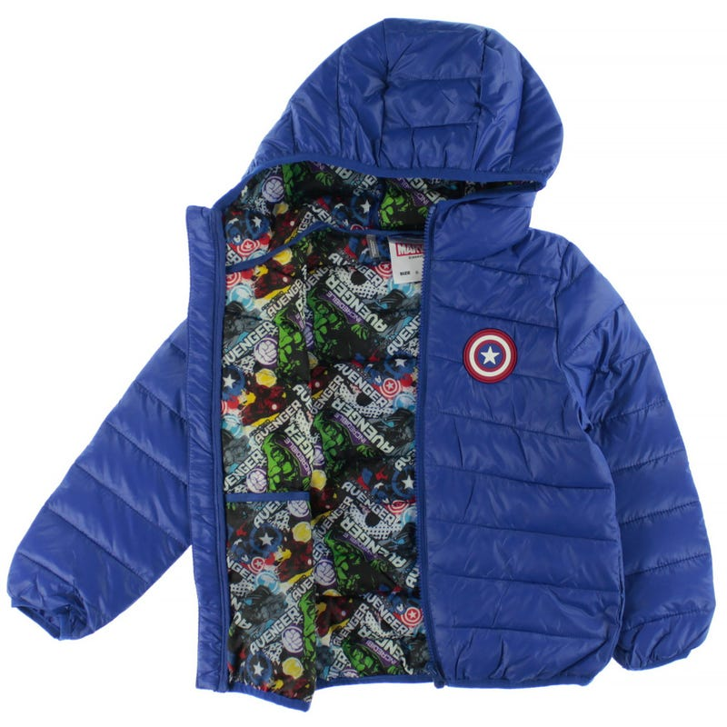 Manteau Avengers Ultralight 6-12ans