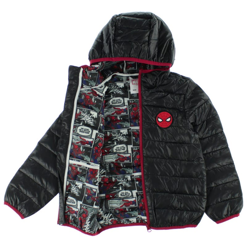 Manteau Spiderman Ultralight 6-12ans