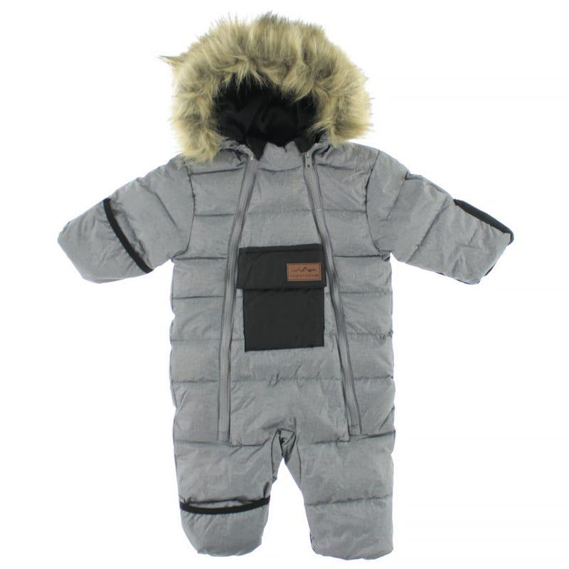Excursion Snowsuit Grey 3-24m