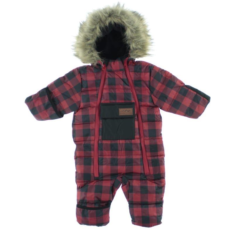 Excursion Snowsuit Red Check