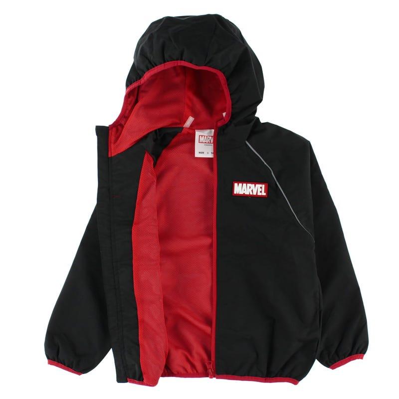 Coupe-Vent Marvel Noir 6-12ans