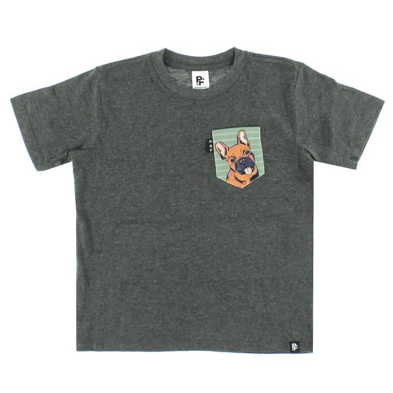 T-Shirt Chien 6-12ans