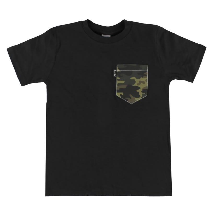 Camo T-Shirt 6-12y
