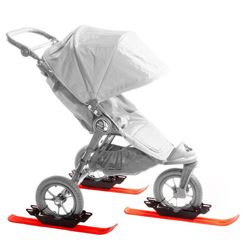 Polar Stroller Skis-3 Wheels