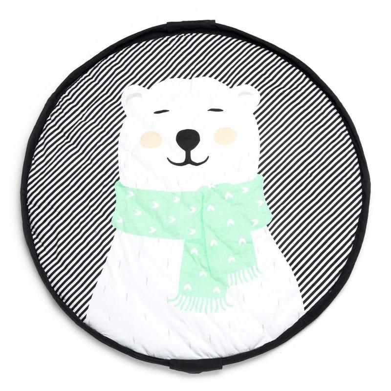 Play N Go Soft Playmat Bag - Polar Bear