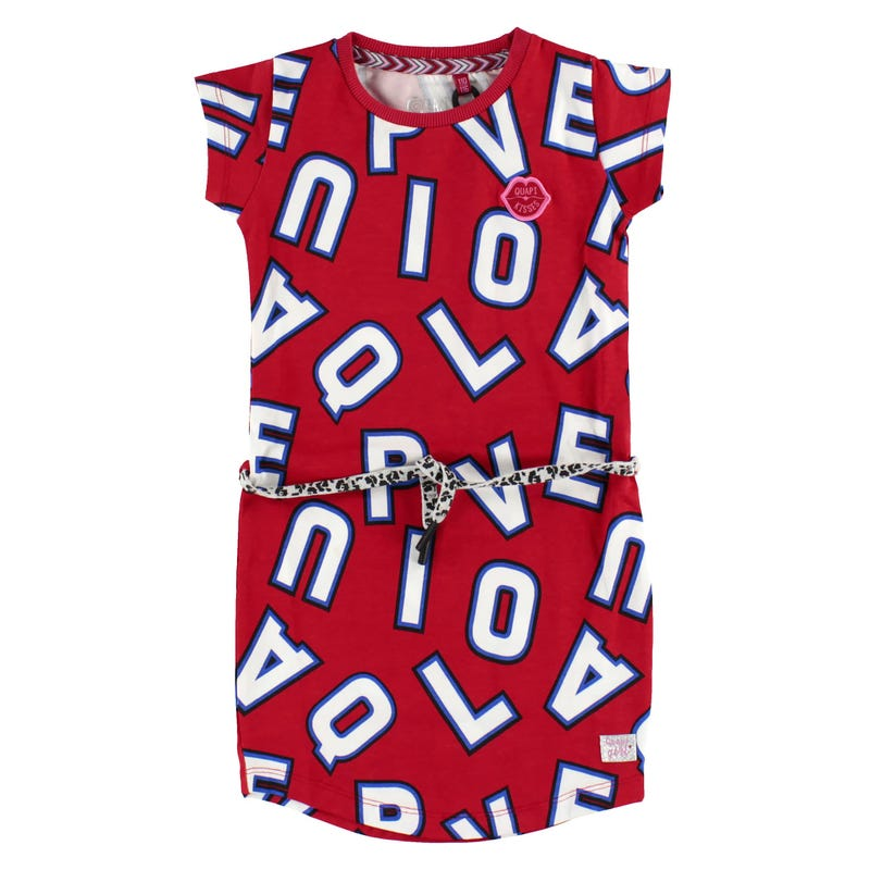 Letters Printed Dress 3-14