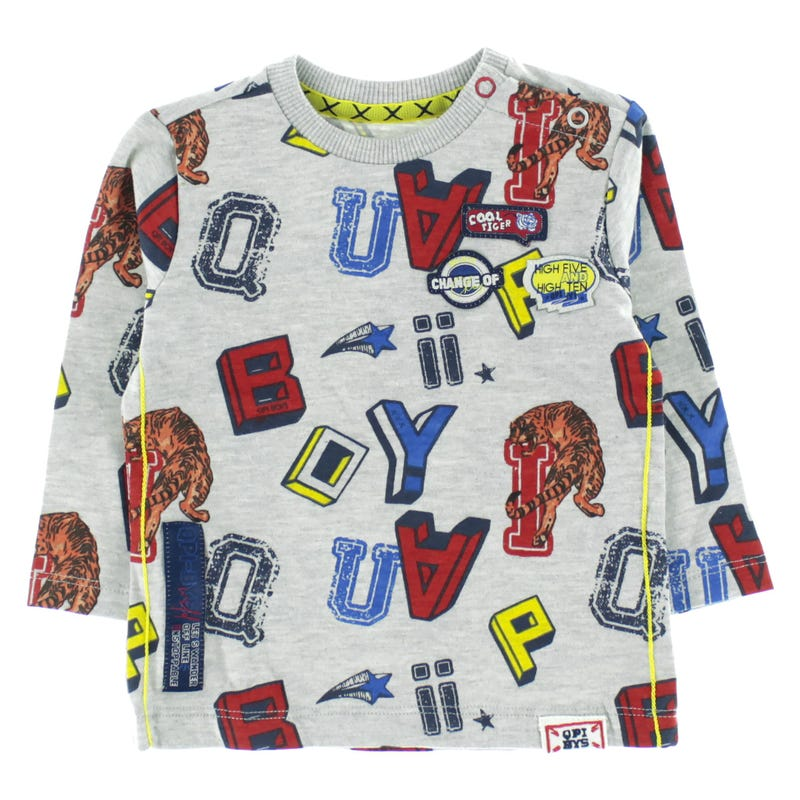 Letters Printed T-Shirt 6-24M