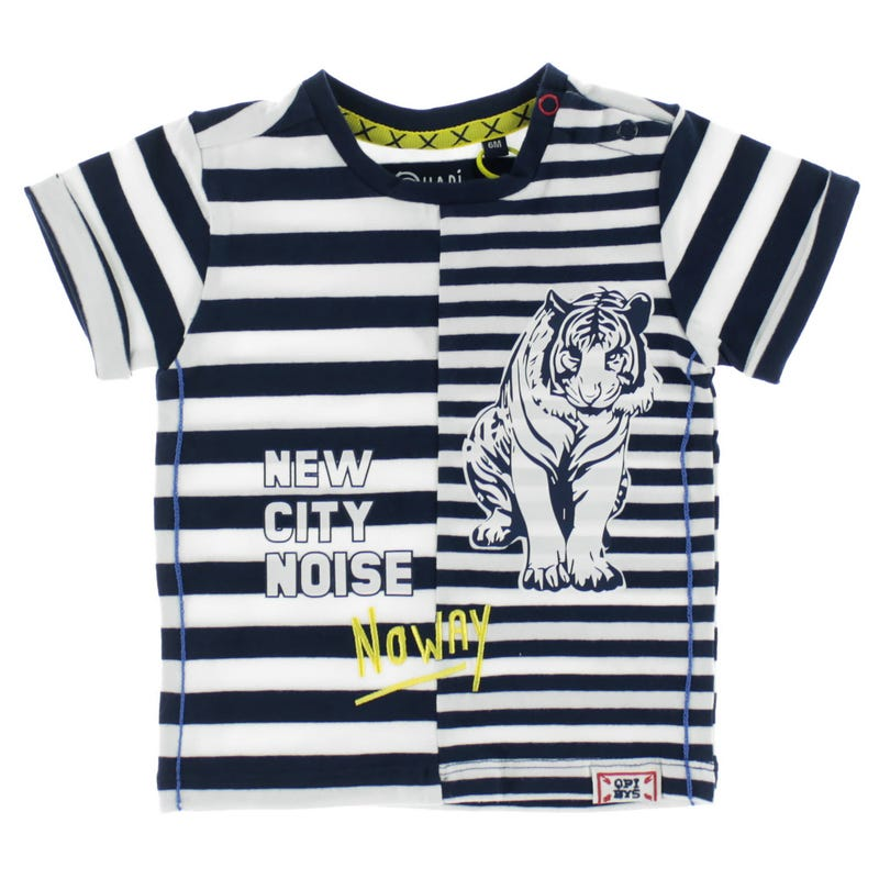 Bent Striped T-Shirt 6-24M