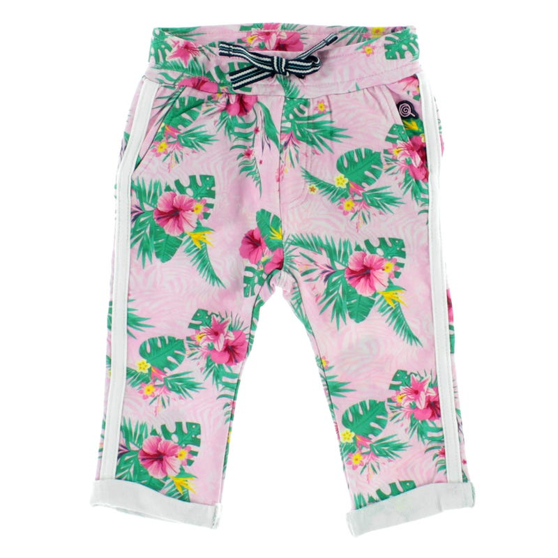Flower Jersey Sweatpants 6-24M