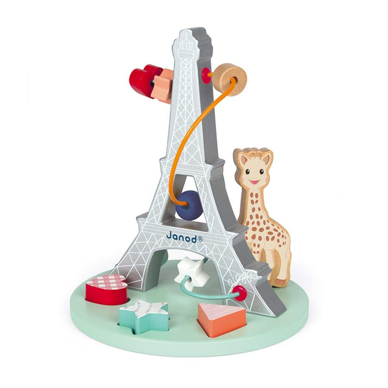 Eiffel Tower Sophie La Girafe Bead Maze