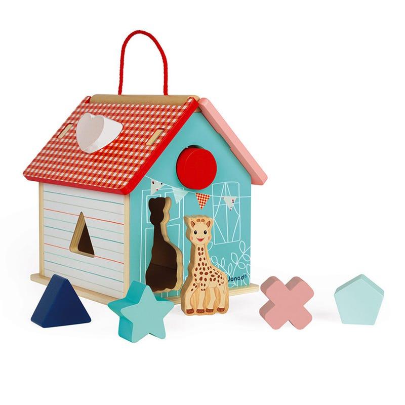 Shape Sorting House Sophie La Girafe