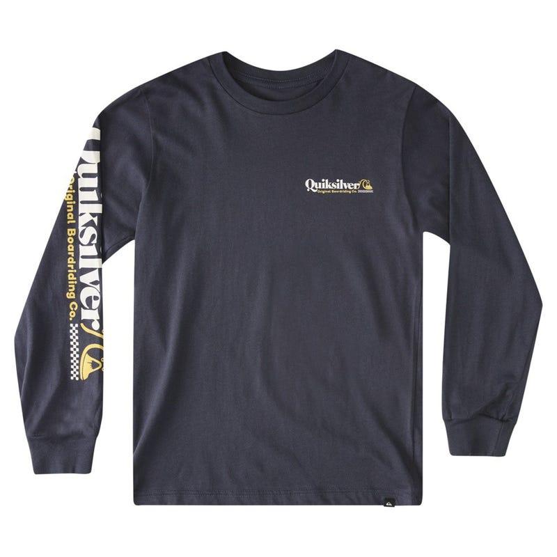 Check Yo Self Long Sleeves T-shirt 10-14ans