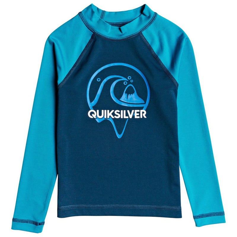 Bubble Long Sleeves UV Rashguard 2-7y