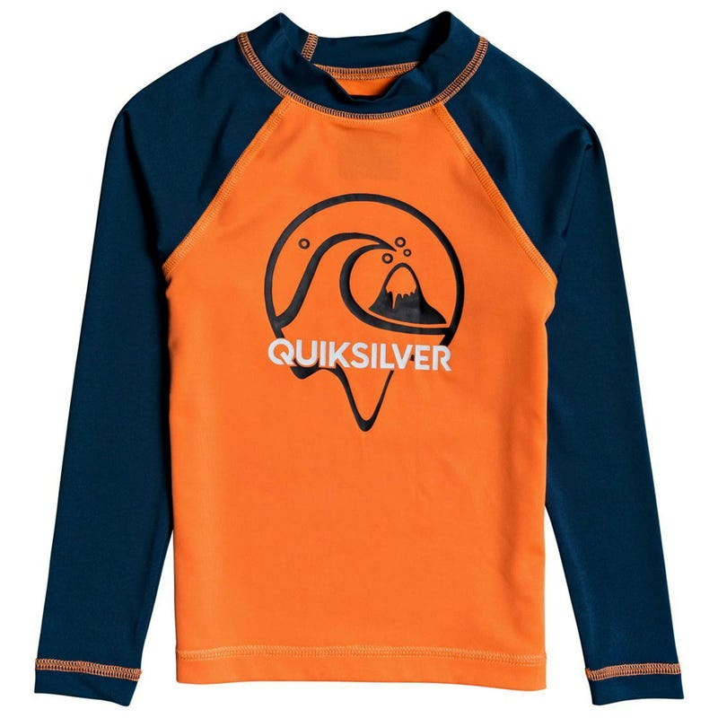 Bubble Dreams Long Sleeves Boy UV Rashguard 2-7y