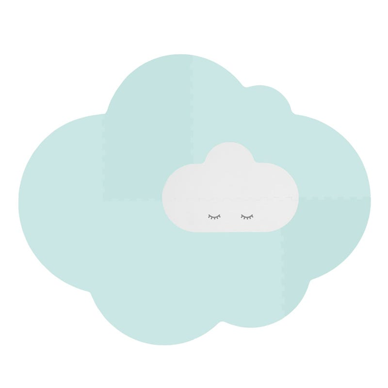 Playmat Large - Cloud Green