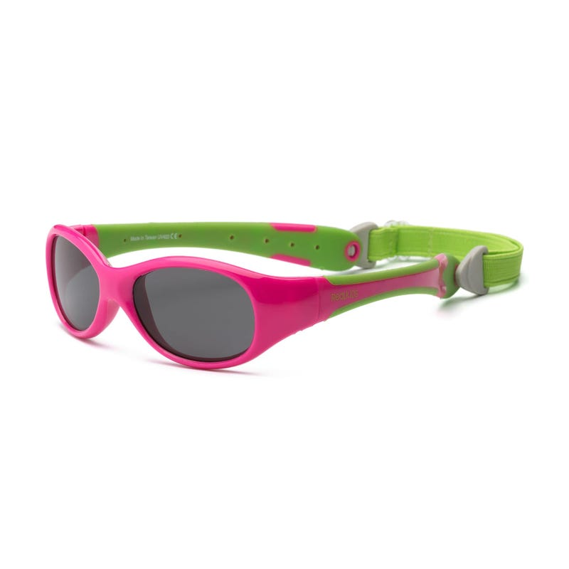 Fuchsia Explorer UV Glasses 0-24m