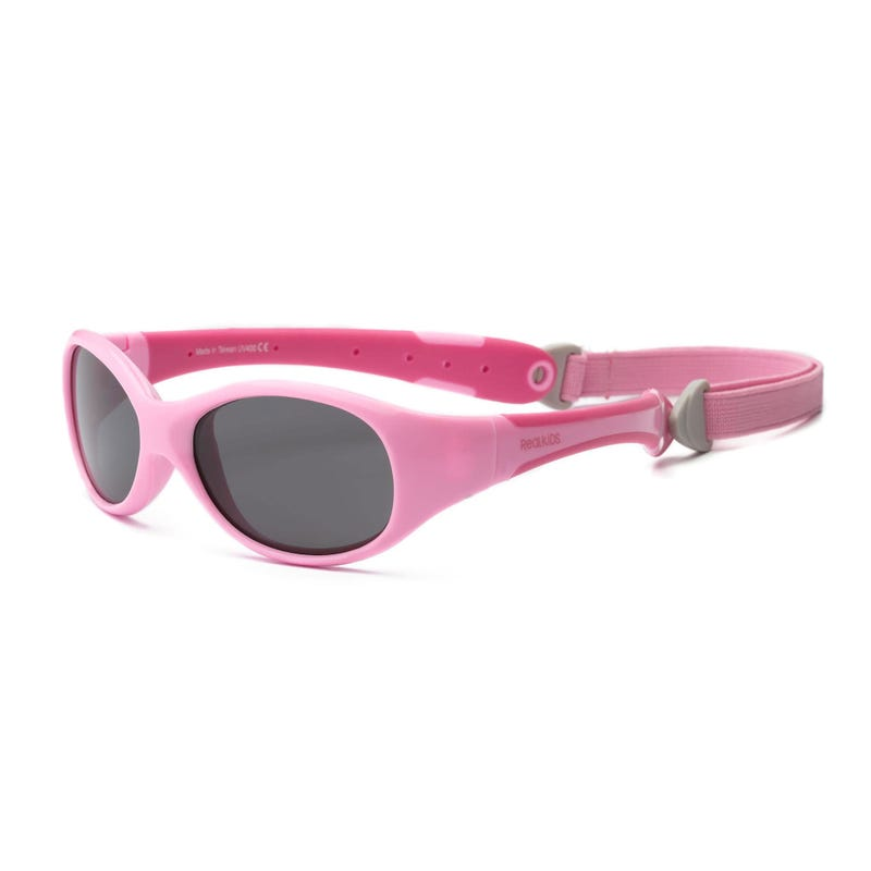 Pink Explorer UV Glasses 0-24m