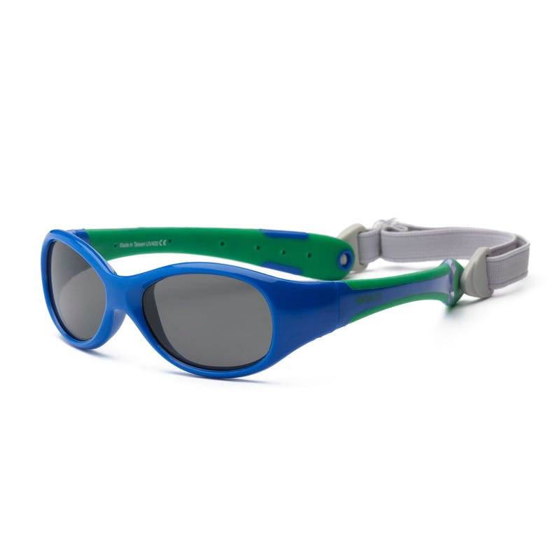 Lunette UV Explorer Bleue 0-24mois