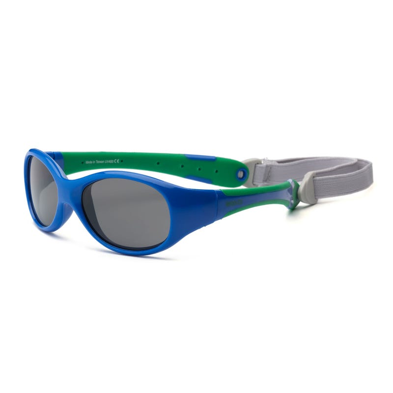Blue Explorer UV Glasses 2-4y